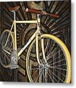 Demon Path Racer Bicycle Metal Print by Mark Howard Jones