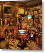 Dentist - The Dentist Office Metal Print by Mike Savad