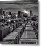 Denver's Underbelly Metal Print by Kristal Kraft