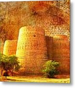 Derawar Fort Metal Print by Catf