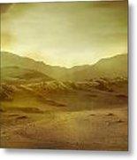 Desert Metal Print by Brett Pfister