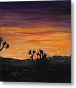 Desert Night Metal Print by Anastasiya Malakhova