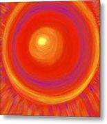 Desert Sunburst Metal Print by Daina White