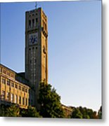 Deutsches Museum Munich - Meteorological Tower Metal Print by Christine Till