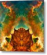 Devil Nebula Metal Print by The  Vault - Jennifer Rondinelli Reilly