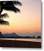 Diamond Head Sunrise - Honolulu Hawaii Metal Print by Brian Harig