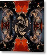 Disrupting Influence Metal Print by Claude McCoy