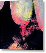 Distraction Abstraction Metal Print by Betty Pieper