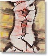 Divine Love Series No. 1412 Metal Print by Ilisa  Millermoon