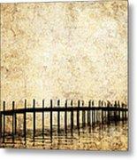 Dock 2 Metal Print by Skip Nall