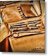 Doctor -  Medical Field Kit Metal Print by Paul Ward