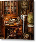 Doctor - My Tiny Little Office Metal Print by Mike Savad