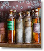 Doctor - Perfume - Soap And Cologne Metal Print by Mike Savad
