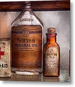 Doctor - Pharmacueticals  Metal Print by Mike Savad