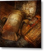 Doctor - Wwii Emergency Med Kit Metal Print by Mike Savad