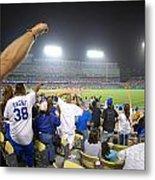 Dodger Stadium 3 Metal Print by Micah May