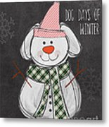 Dog Days  Metal Print by Linda Woods