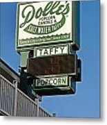 Dolle's Metal Print by Skip Willits