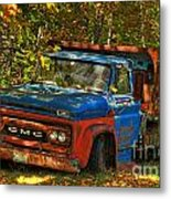 Done Hauling  Metal Print by Alana Ranney