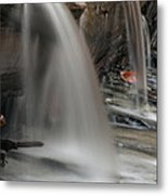 Double Cascade Metal Print by Darleen Stry