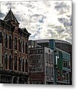 Downtown Nashville Metal Print by Dan Sproul