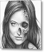 Dr. Hadley Thirteen - House Md Metal Print by Olga Shvartsur