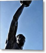 Dr. J. Metal Print by Bill Cannon