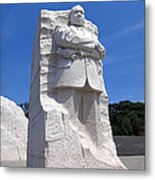 Dr Martin Luther King Memorial Metal Print by Olivier Le Queinec