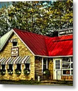 Drake's Inn On Seventh Lake Metal Print by David Patterson
