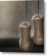 Draw The Shades Metal Print by Brenda Bryant