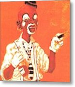 Dream Face Metal Print by George Harrison