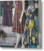 Dresses For Sale Metal Print by Brenda Bryant