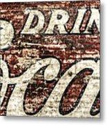 Drink Coca-cola 2 Metal Print by Scott Norris