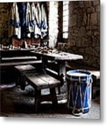 Drum Corps 2 Metal Print by Peter Chilelli