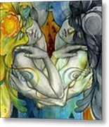 Duality Metal Print by Patricia Ariel