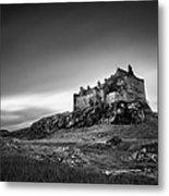Duart Castle Metal Print by Dave Bowman