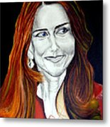 Duchess Of Cambridge Metal Print by Prasenjit Dhar