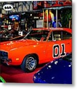 Dukes Of Hazzard Metal Print by Frozen in Time Fine Art Photography