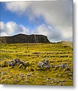 Dun Aengus - Ancient Irish History Metal Print by Mark E Tisdale