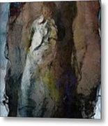 Dwelling In Her Dark Space Metal Print by Gun Legler