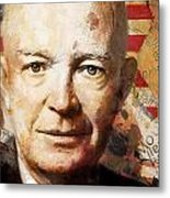 Dwight D. Eisenhower Metal Print by Corporate Art Task Force
