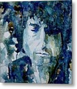 Dylan Metal Print by Paul Lovering