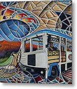 Dynamic Route 66 II Metal Print by Ricardo Chavez-Mendez