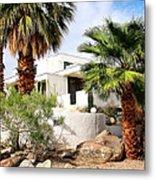 E. Stewart Williams Home Palm Springs Metal Print by William Dey