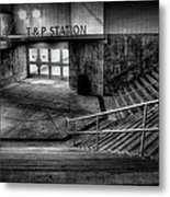Early Morning Commute Metal Print by Joan Carroll