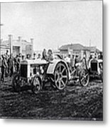 Early Tractors, Russia Metal Print by Science Photo Library
