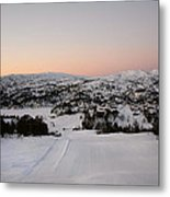 Early Winter Morning Metal Print by Gry Thunes