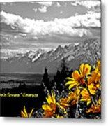 Earth Laughs In Flowers Metal Print by Dan Sproul