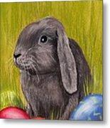 Easter Bunny Metal Print by Anastasiya Malakhova