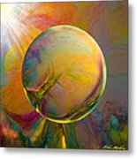 Easter Orb Metal Print by Robin Moline